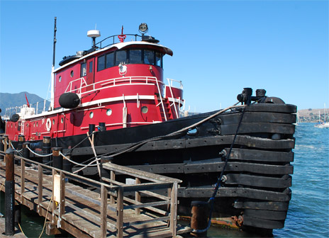Joe Flower and The Change Project, Inc.'s office on a tugboat.  ImagineWhatIf.com